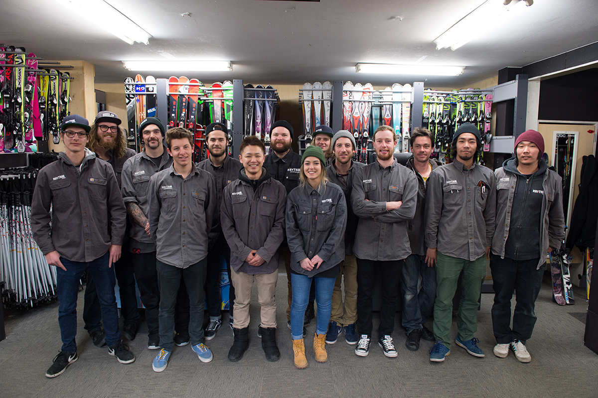 Ski team-rhythm-japan