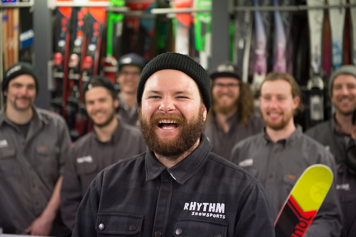 Ski team rhythm japan