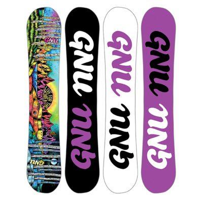 Gnu women ladies choice snowboard