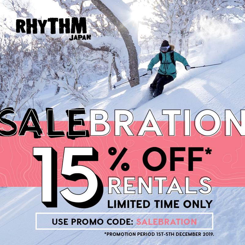 salebration 15% off