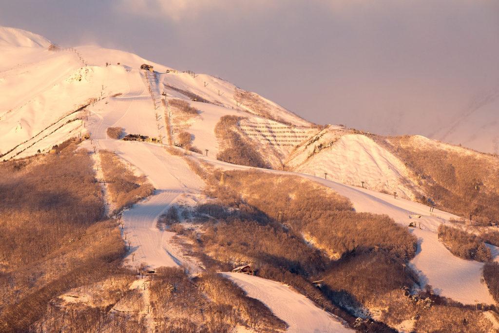 The Hakuba Valley is located on Japan's main island, Honshu.