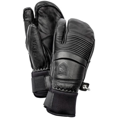 hestra-fall-line-3-finger-mittens-black