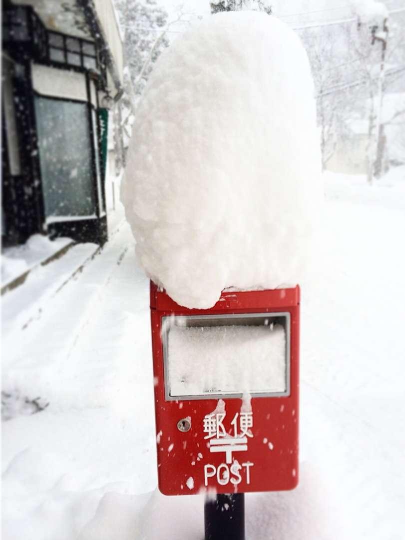 snow pillow post box